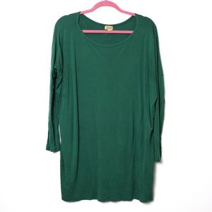 Piko 1988 | Bamboo Long Sleeve Tunic M